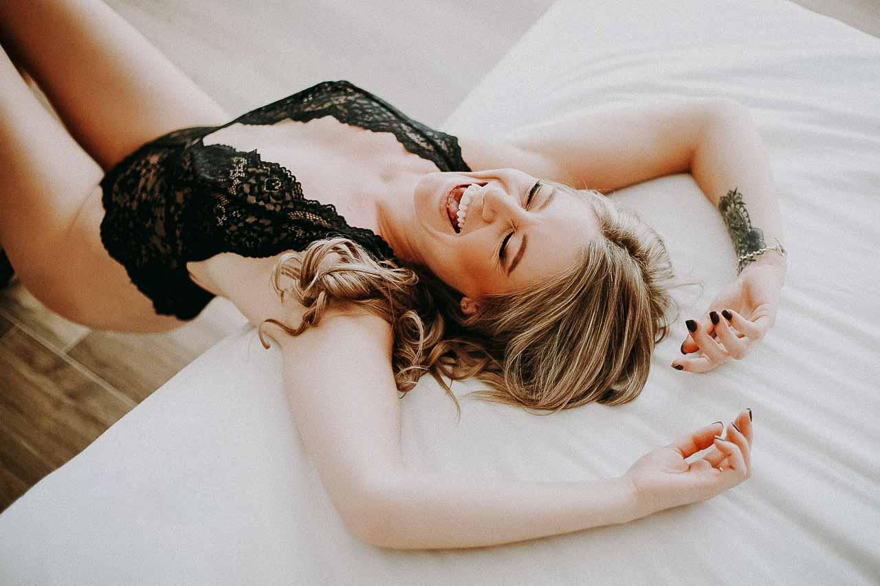 En dygtig boudoir fotograf har erfaring