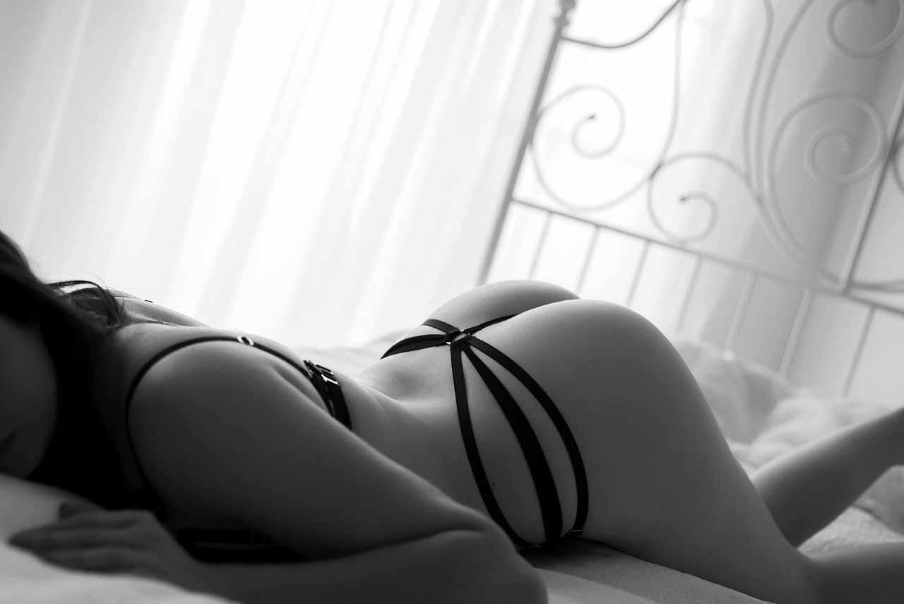 At få taget boudoir billeder af en fotograf