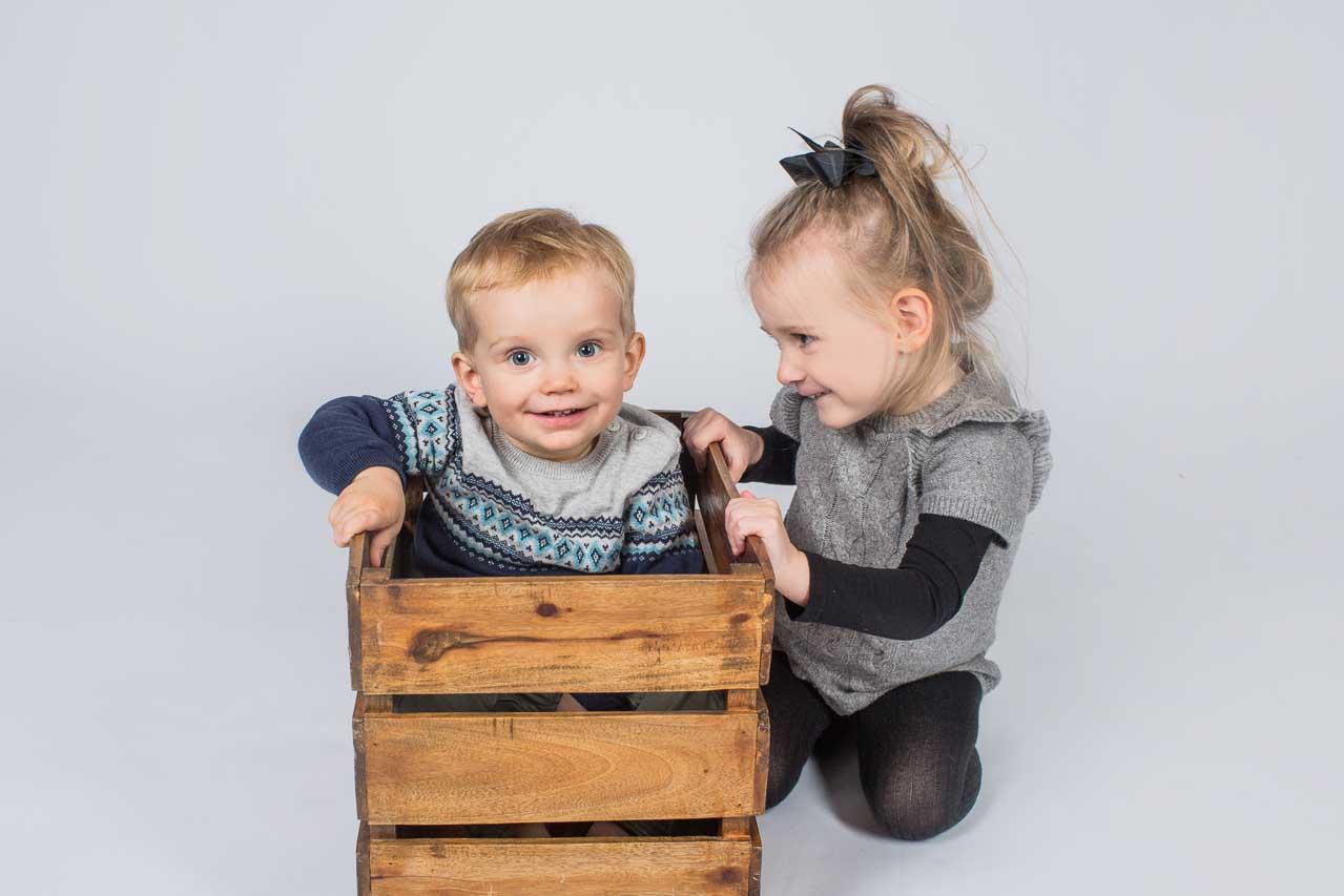 professionel fotograf taget mange billeder af børn