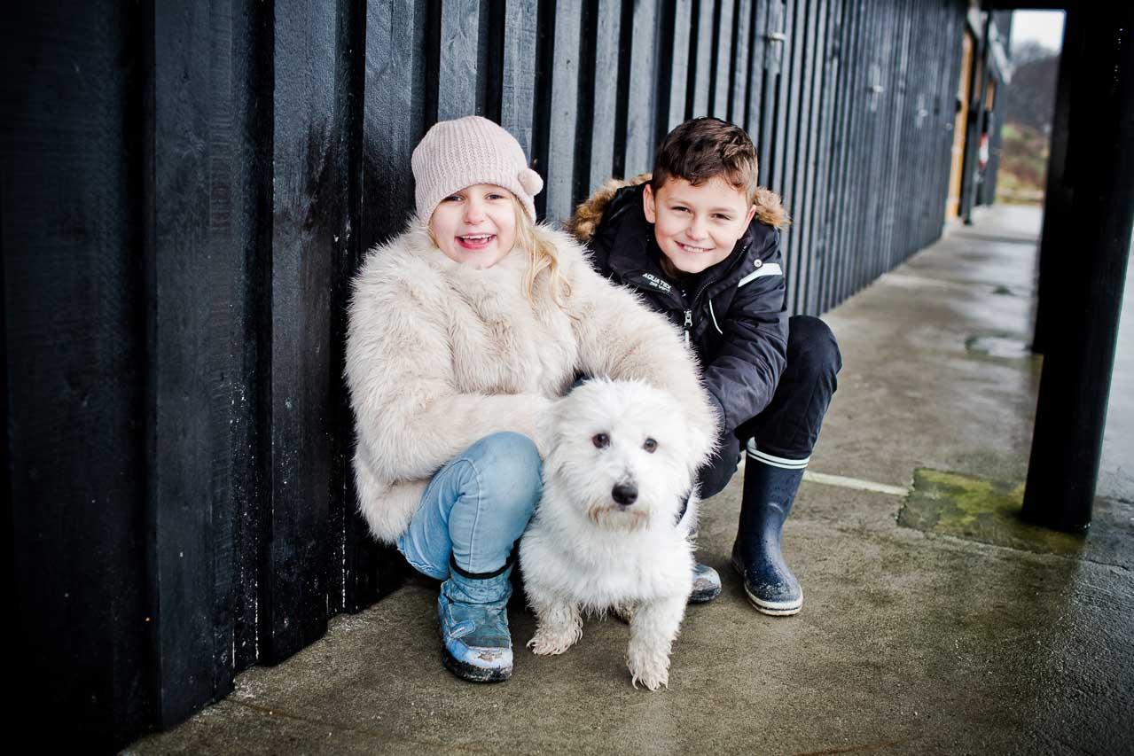 Portrætter af Familie, børn, grupper