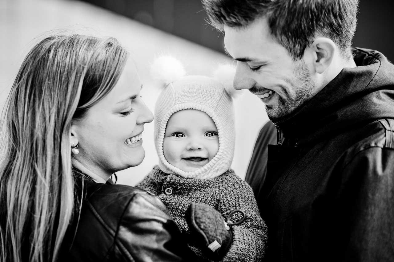 Familieportræt som et sjovt og evigt minde